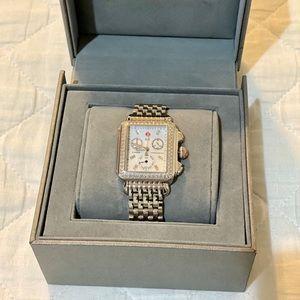 Michele Deco Watch w/ Diamonds
